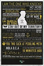 Breaking Bad The Many Sayings of Walter White Poster 61x91.5cm
