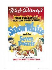 Walt Disney's Snow White and The Seven Dwarves Movie Score Mini Print 30x40cm