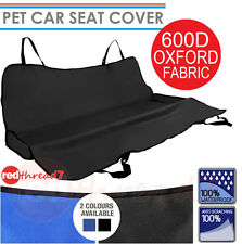 Dog Back Seat Car Cover Pet Cat Waterproof Rear Mat Protector Hammock Black Blue
