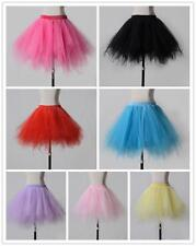 Short Tutu Underskirt Petticoat Wedding Rockabilly Fancy Dress