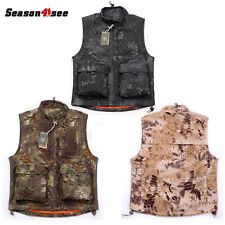 3Color Outdoor Tactical Vest Hunting Wearable Men's Airsoft Waistcoat Clothes