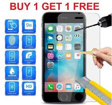 "100% GENUINE TEMPERED GLASS FILM SCREEN PROTECTOR FOR APPLE IPHONE 6 4.7"" - NEW"