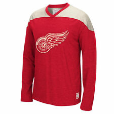 Detroit Red Wings Long Sleeve Applique Crew