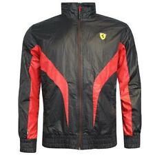 Puma SF Ferrari Lightweight Mens Motorsport Jacket Black 761568 01