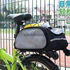 Cycling Bicycle Bike Pannier Rear Seat Bag Rack Trunk Pannier Handbag Tote Bag