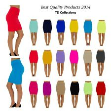 MINI SKIRT Seamless Stretch Tight Short Fitted Body Con Clubwear Juniors Onesize