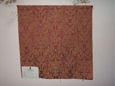 Duralee fabric remnant for crafts floral Small Floral Damask Brocade