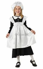SALE! Kids Victorian Poor Child Maid Girls Book Week Fancy Dress Costume Outfit