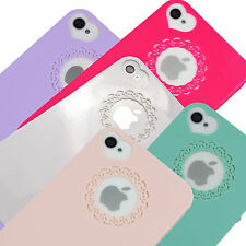 Thin Cute Love Heart Back Hard Case Cover Skin For iPhone 4 4S Apple 4S