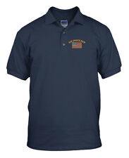 AIR FORCE DAD MILITARY Embroidery Embroidered Golf Polo Shirt