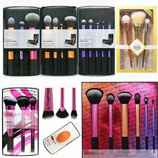 New Pro Real Techniques Makeup Core Collection Starter Travel Set Powder Brushes