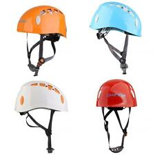 SAFETY ROCK CLIMBING HELMET MOUNTAINEER HIGH WORK RAPPELLING KAYAK RESCUE HELMET