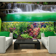 Photo Wallpaper WATERFALL PARADISE NATURE Wall Mural (3354VE)
