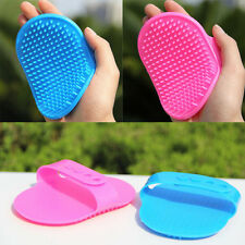 New Pet Rubber Grooming Massage Hair Removal Bath Brush Glove Dog Cat Hair Comb/