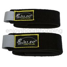 ILURE Armor Fishing Rod Bands/Straps Lead Coarse Pole Tackle, Pack of 2