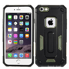 Green Dual Layer Hybrid Armor Cover Protector Phone Case Apple iPhone 6 6s