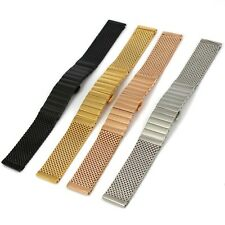 New Fashion 20 22 mm S/S Watch Mesh Bracelet Shark Band Butterfly Diving Strap