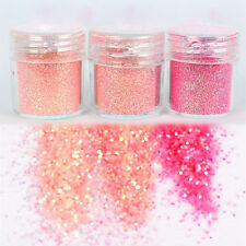 POT Nail Art Glitter Powder Dust For UV GEL Acrylic Decoration Tips Hot