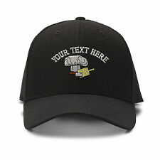 Your Text Here Custom Chef Hat Embroidered Adjustable Hat Baseball Cap