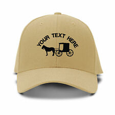 Custom Text Wagon Embroidery Embroidered Adjustable Hat Baseball Cap