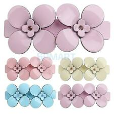 Acrylic Flower Spring Large Hair Pin Clip Claw Head Barrette Clamp Bridal