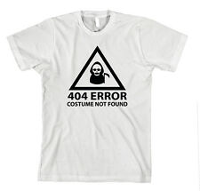 404 Error Costume Not Found T-Shirt Tee