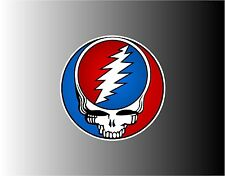 Grateful Dead Steal Your Face - 2 Sizes To Choose Bumper Sticker Decal