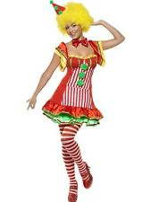 Adult Sexy Boo Boo The Circus Clown Ladies Fancy Dress Hen Party Costume Outfit