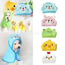 Cotton Pet Dog Cartoon Bathrobes Animal Bath Towel Puppy Cats Pajamas Blanket