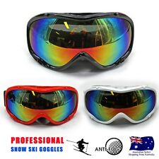 RED/WHT/RED Frame Professional Skiing Snowboard Dual Lens Anti-fog ski GOGGLES