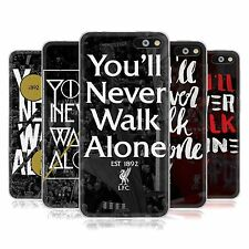 LIVERPOOL FC LFC YOULL NEVER WALK ALONE SOFT GEL CASE FOR AMAZON M4TEL PHONES