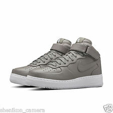 Brand New Nike NikeLab Air Force 1 Mid Light Charcoal Gray Shoes 819677-001