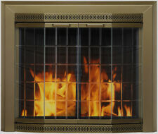 Fireplace Glass Doors Pleasant Hearth Grandior Bay