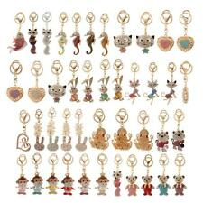 Trendy Crystal Rhinestone Handbag Keyring Charm Pendant Purse Bag Key Ring Chain