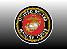 US Marines Logo - Two Sizes To Choose From Bumper Sticker Decal