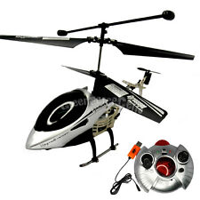 3CH Channel RC Remote Control Mini Helicopter Gyro Silver Easy Fly Toys