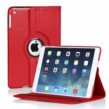 iPad Air 2 Case: 360 Degrees Rotating Magnetic PU Leather Smart Cover Stand