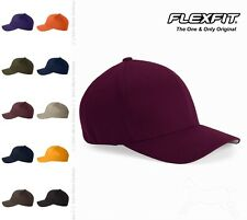 Flexfit Structured Twill Cap Fitted, Six-panel, Mid-profile Hat 6277 3 Sizes