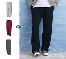 Gildan Mens Dryblend Open Bottom Pocketed Sweatpants 12300 Up to 2XL