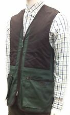 Beretta Trap Vest Forest & Coffee Green Clay Shooting Skeet Adult (+ Kids Sizes)