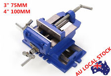 Industrial TWO  Way Cross Slide Vise  Drill Press Clamp Foe Milling Woodworking