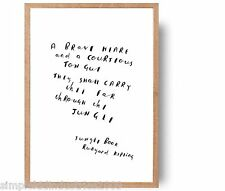 Jungle Book hand drawn quote art (not print!) nursery- christmas gift kipling