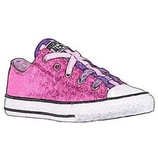 Converse All Star Loopholes Ox - Girls' Primary Sch. Basketball Shoes (Powder P