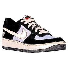 Nike Air Force 1 Low - Boys' Primary Sch. Basketball Shoes (BK/Sail/Wolf GY)