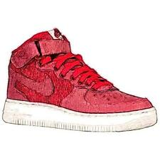 Nike Air Force 1 Mid - Boys' Primary Sch. Basketball Shoes (Team RD/Gym RD/Summ