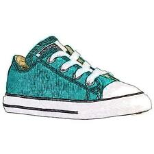 Converse All Star Ox - Boys' Toddler Basketball Shoes (Rebel Teal)