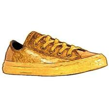 Converse All Star Ox - Boys' Preschool Basketball Shoes (Gold/Black/Gold)