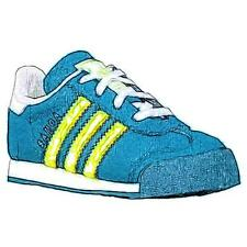 adidas Originals Samoa - Boys' Toddler Casual Shoes (Mineral/Solar Yellow/White)