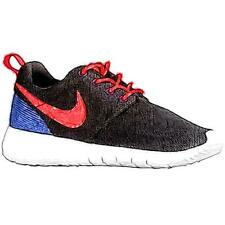 Nike Roshe One - Boys' Primary Sch. Running Shoes (BK/DK Purple/Dust/WT/Total C