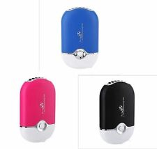 Mini Portable USB Rechargeable Hand held Air Conditioner Cooling Bladeless Fan